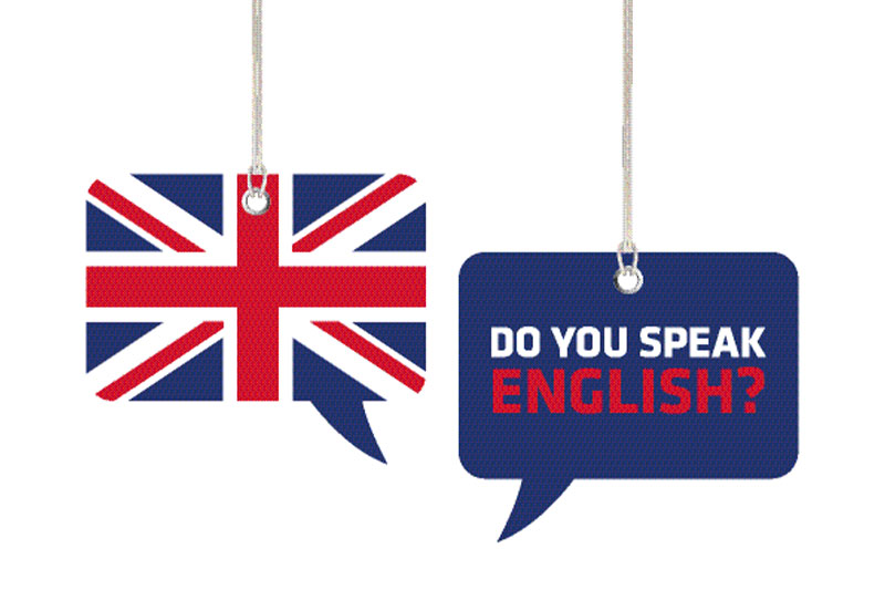 English is all around me